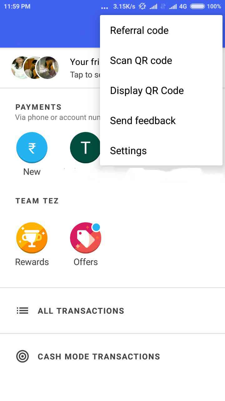 earn money app referral code google tez app referral code and earn 153rs on your 6186