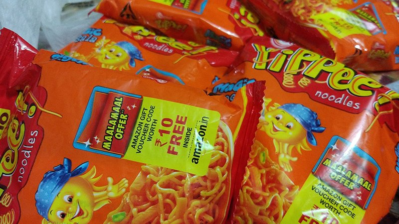 Yippee Noodles Free Rs.10 to Rs. 25 Amazon Gift Voucher Offer on Amazon India
