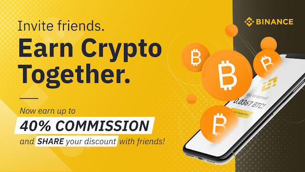 Binance referral code link for signup