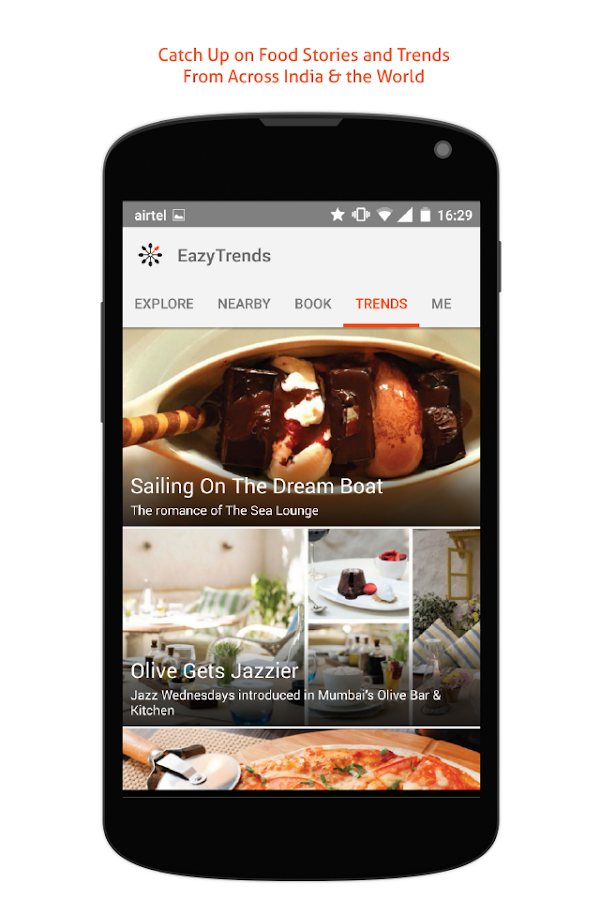 EazyDiner - Restaurant Booking- screenshot